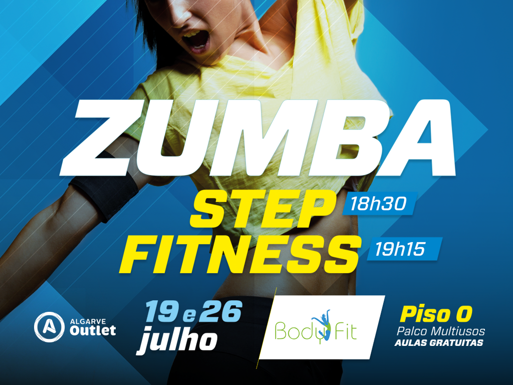 Zumba Step e Zumba Fitness Body Fit