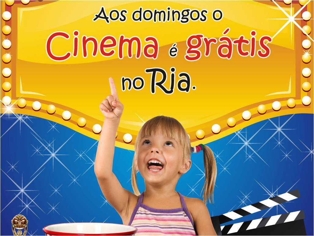 Cinema Gr�tis ao Domingo